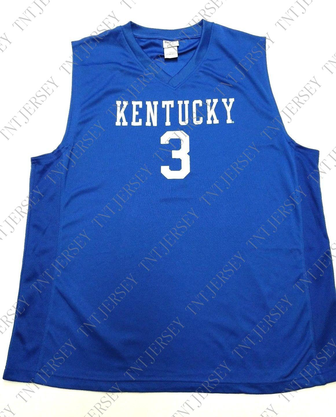 0f1b68f89 2019 Cheap Custom Kentucky Wildcats  3 Basketball Jersey Stitched Customize  Any Number Name MEN WOMEN YOUTH XS 5XL From Tntjersey
