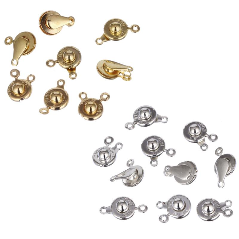 High Quality 20pcs/lot 2 Color 9mm Buttons Letter Metal Snap Fasteners  Press Press Studs Kit Sewing