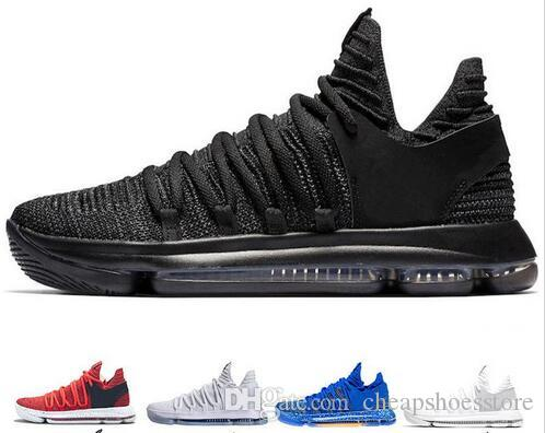 timeless design 1f0fa 855db New Zoom KD 10 Anniversary University Red Still Kd Igloo BETRUE Oreo Men Basketball  Shoes USA Kevin Durant Elite Kd 10 Sport Sneakers KDX Mens Shoes ...