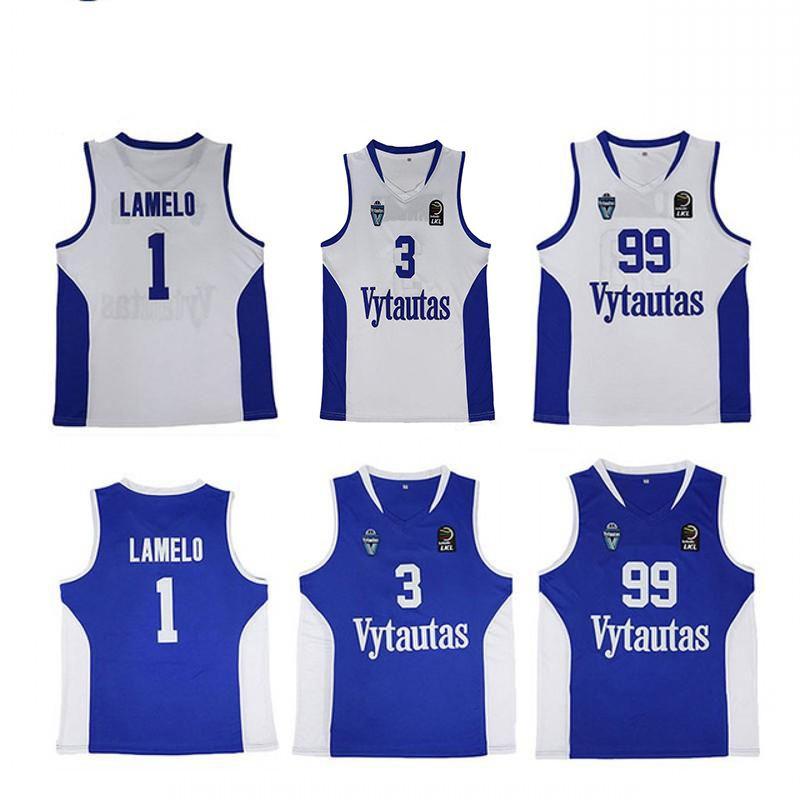 b73fc95ba48 2019 NCAA 2018 Vytautas LaMelo Ball #1 LiAngelo Ball #3 LaVar Ball ...