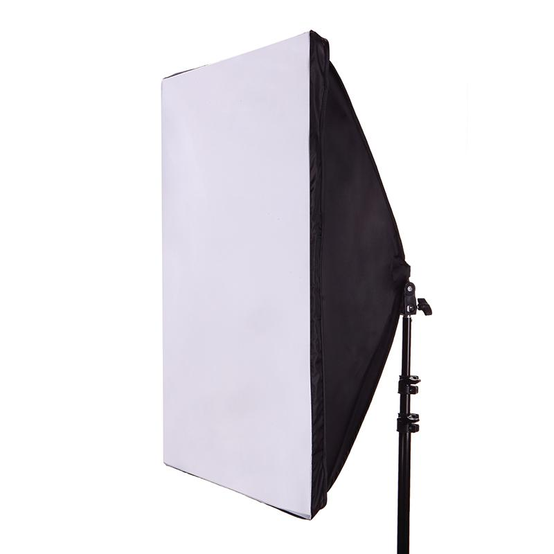 50*70CM Photography Studio Wired Softbox Lamp Holder with E27 Socket for Studio Continuous Lighting With Carry