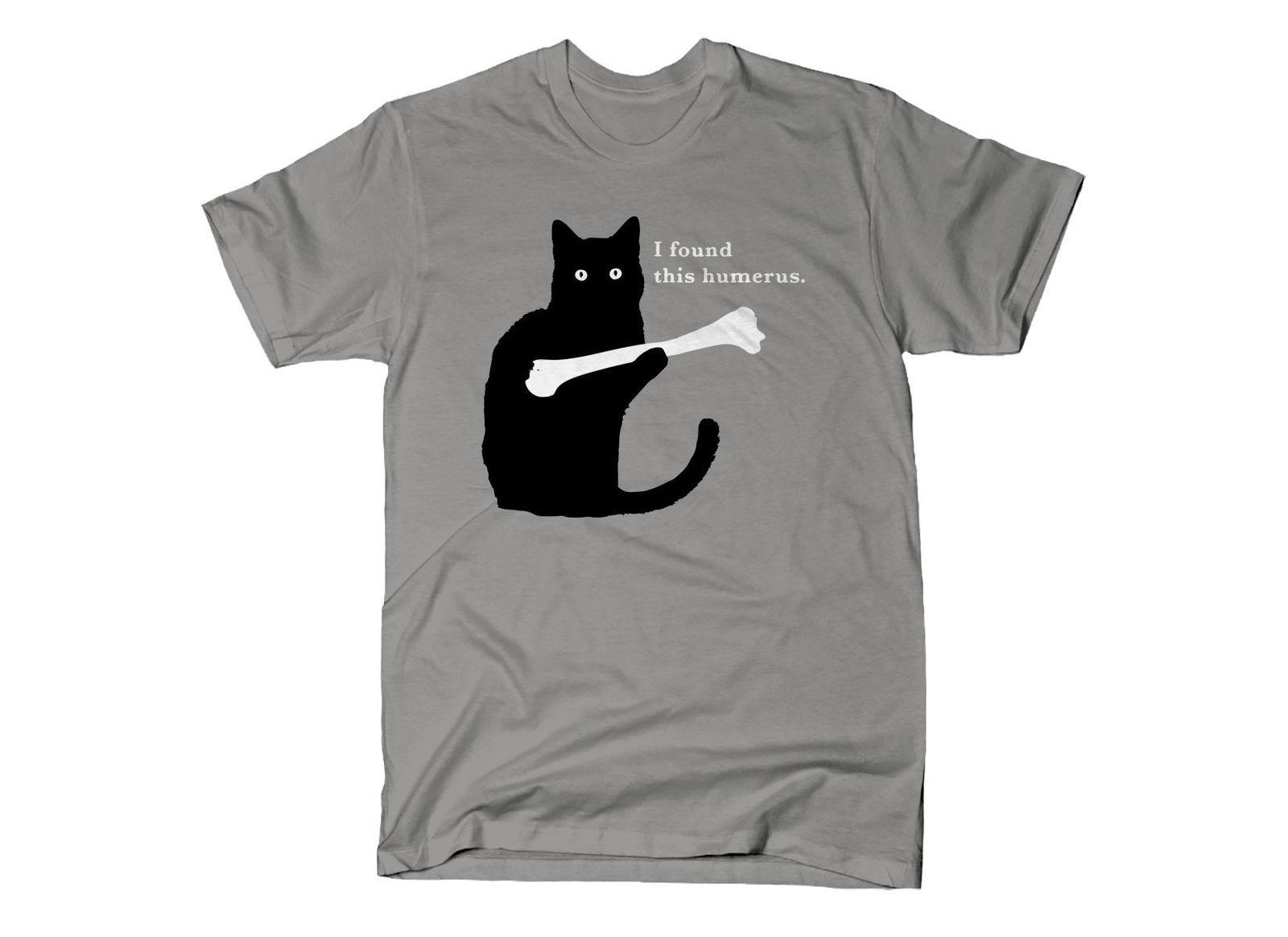 5978d5883 Cat I Found This Humerus T Shirt Dark Heather Cotton Men T Shirt Size  Cartoon T Shirt Men Unisex New Fashion Tshirt Funny T Shirts Online Hilarious  T Shirts ...