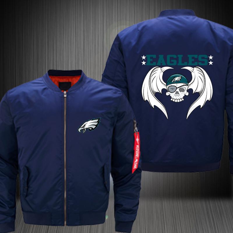Dropshipping Philadelphia Eagles Jacket USA Size Men S MA 1 Jacket Thicken  Printing Cowboys Bomber Coat Costume Mens Leather Jackets Mens Coats From  Frenzen ... 7646d0e55