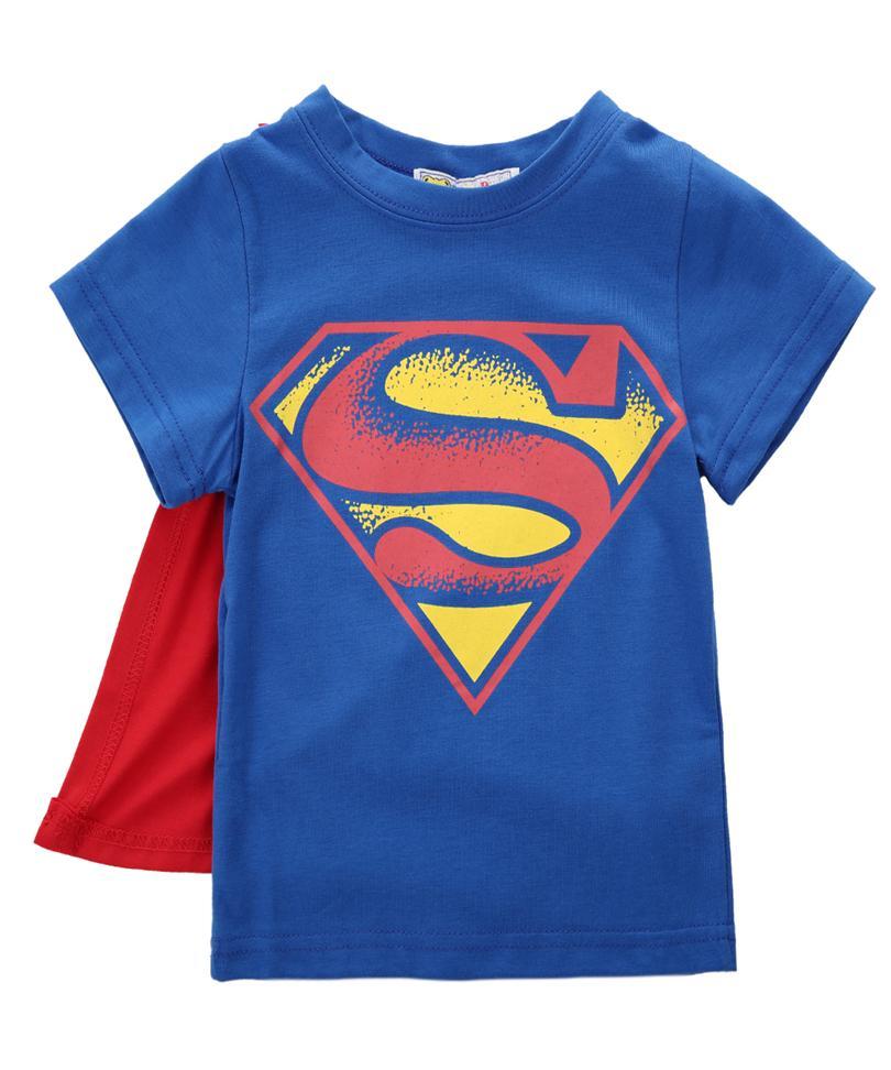 Compre 2017 Niños Bebés Camiseta Superman Batman Camiseta Niños 3D De  Dibujos Animados Mangas Cortas Niños Camiseta Nova Boys Ropa A  14.36 Del  Ycqz3 ... beb4110950c36