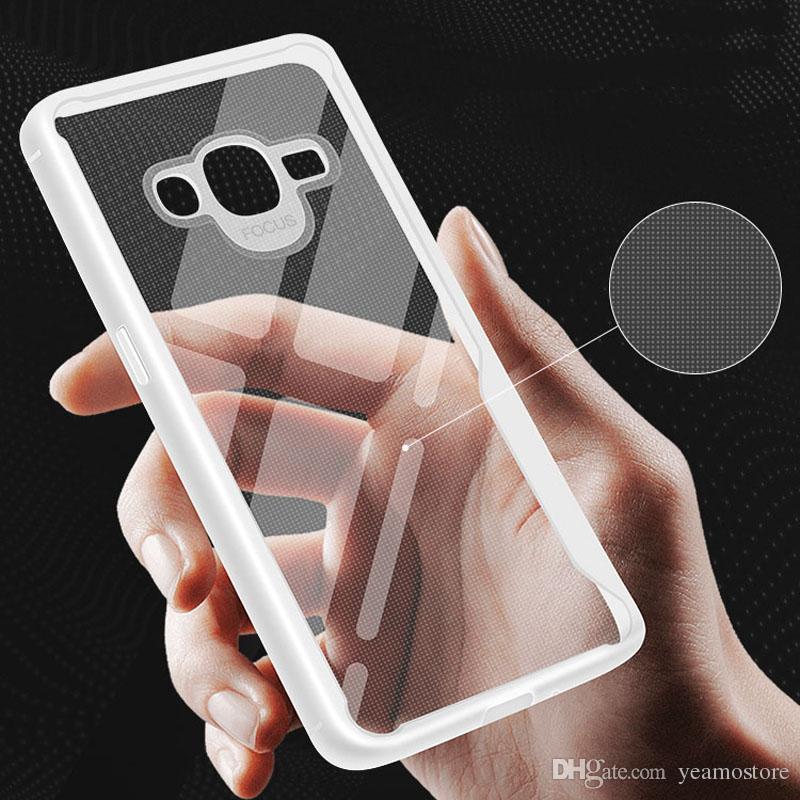fe2ca7eefd0 Protectores Para Celular Funda De Silicona TPU Transparente Para Samsung  Galaxy J2 J5 J7 Prime J4 J6 Más Galaxy J4 J6 Prime Funda De TPU Suave A  Prueba De ...