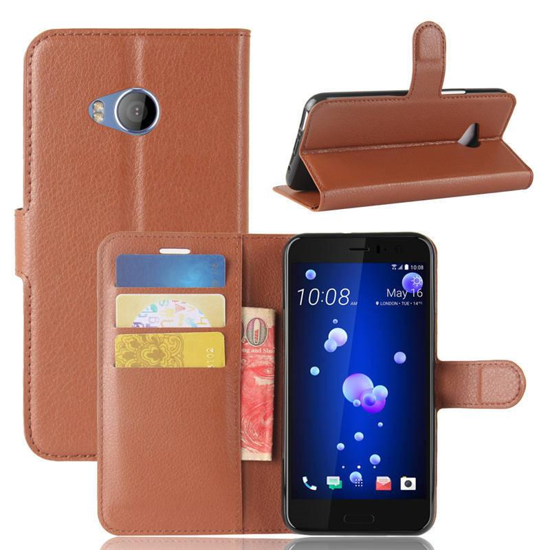 new product e40c2 57cf8 For HTC U11 Life U11 Life Case Cover 5.2inch Wallet PU Leather Back Cover  Phone Case For HTC U11 Life U11life Case Flip