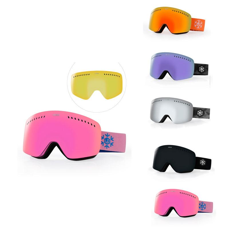 2e23a913709 2019 New Ski Goggles Eyewear Pink Windproof Glasses Snowboard Skiing  Outdoor Sport Glasses For Women From Cookki