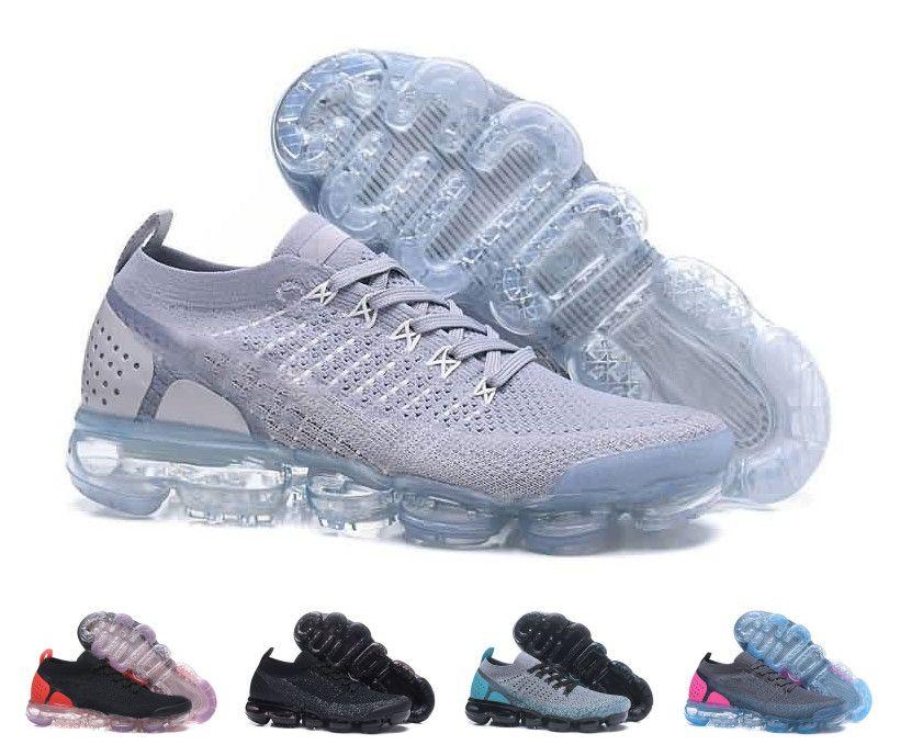 best service 671eb 6f026 Acheter Nike Air Max Vapormax Designer 2018 Hommes Femmes 2.0 Chaussures De  Course Mxaropavs Rose Bleu Gris Noir Blanc Sports Jogging 97 Tn Chaussure  ...