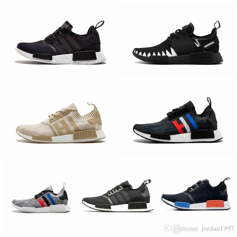 ANDR1A high quality Designer fashion luxury shoes men nmd r1 women Wave Runner running mens ultra Training Top quality chaussures Sneakers