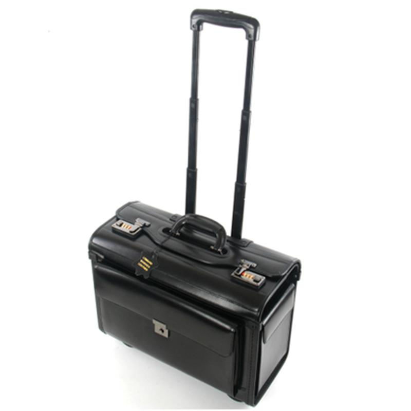 08e414641 Retro Travel Suitacse Pilot Rolling Luggage Cabin Airline Stewardess Travel  Bag Wheel Suitcases Business Trolley Boarding Boxes Laptop Bags Briefcase  From ...