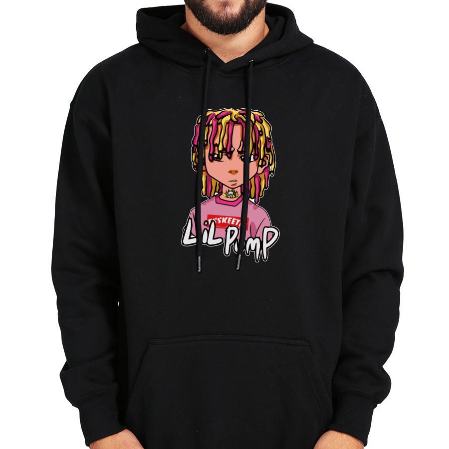 84898549a36 2019 Eu Size 100% Cotton Lil Pump Hoodies Sweatshirt Esskeetit Rapper Cool  Plus Velvet Winter Warm Thick Tops Hoody From Goodtshirt007