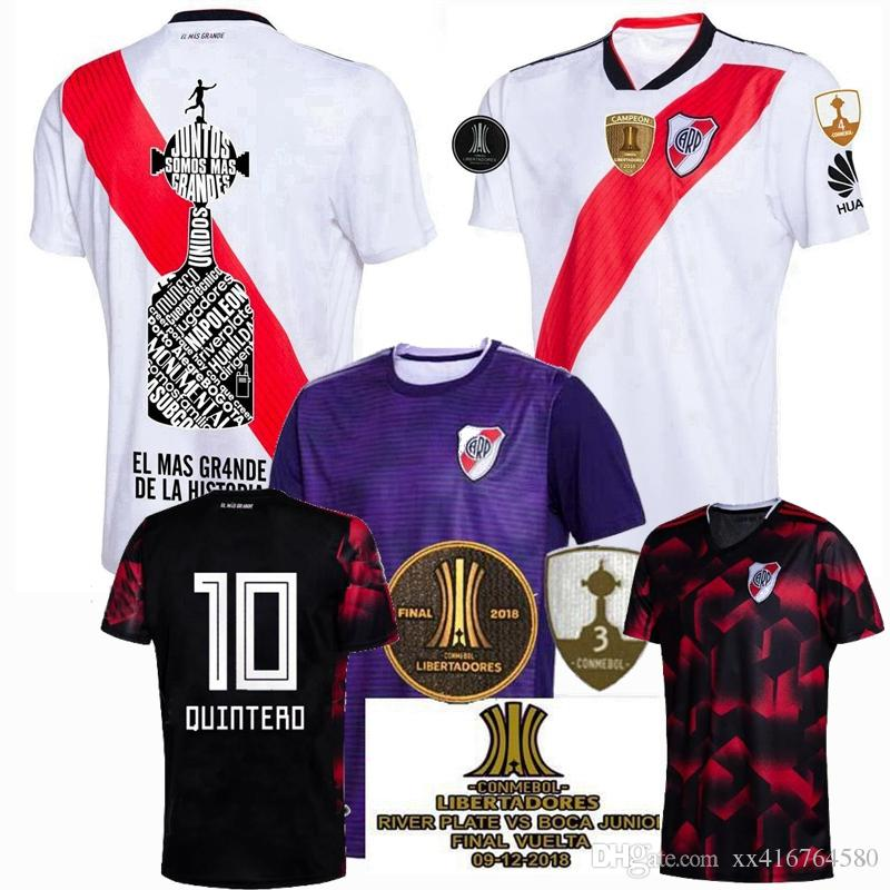 c79c87fca 2019 2019 2020 River Plate Soccer Jersey Home Away 3rd G.MARTINEZ QUINTERO  19 20 Football Shirts S 2XL From Xx416764580