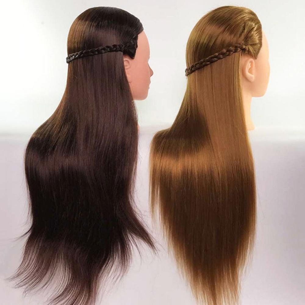Hair Extensions & Wigs Blonde Tripod Training Doll Head Mannequin Head Manikin Canvas Block Head Stand Tripod Aluminium Alloy Round Leg Strong Stable Tools & Accessories