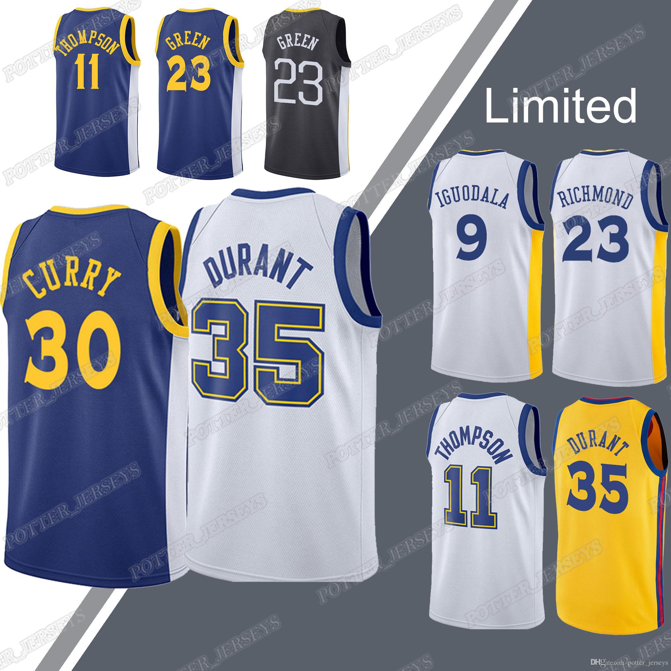 best service df7ab 993fb Warriors jerseys Stephen 30 Curry jersey Kevin 35 Durant Draymond 23 Green  Andre 9 lguodala jerseys