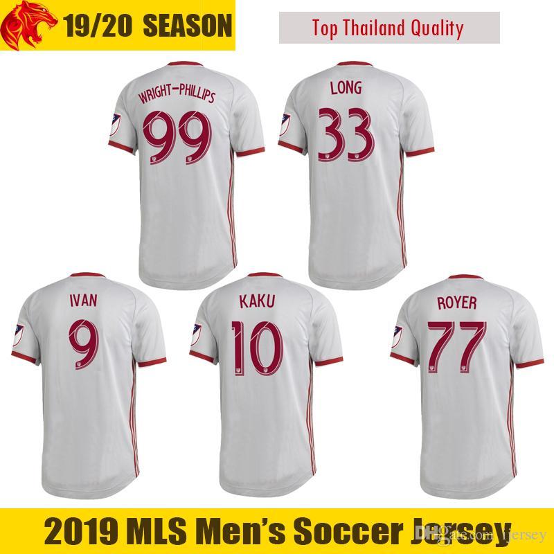 99961ad57 2019 2019 2020 New York Red Soccer Jersey IVAN Bulls 19 20 WRIGHT PHILLIPS  Football Shirt ROYER Jersey KAKU LONG Football Jersey From Ijersey