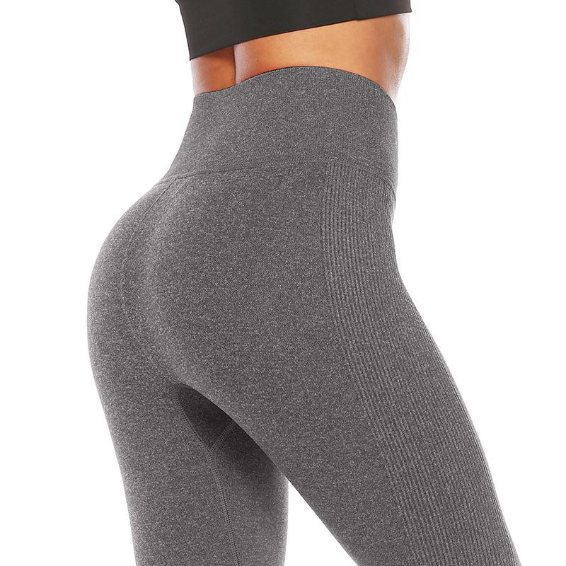 dac2d8823 2019 Sexy Push Up Leggings High Waist Elastic Women Fittness Sport Leggins  Slim Seamless Yoga Pants From Top club