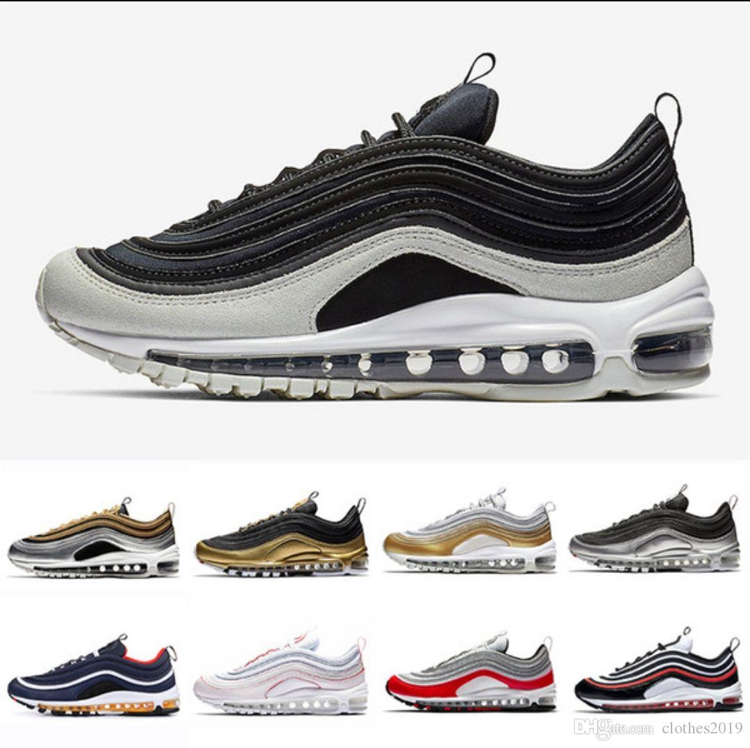 5bbe984d8a61 Spruce Aura Metallic Pack 97 Men Running Shoes Gym Red Yellow Blue ...