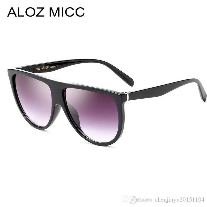 1929561b6a ALOZ MICC 2019 Luxury Sunglasses Brand Designer Women Sunglasses ...