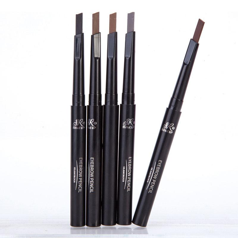 87a74f6b3004 Brand SR MAKE UP Eyebrow Automatic Waterproof Pencil Makeup 5 Styles Paint  Eyebrow Pencil Cosmetics Brow Eye Liner Tools Eyeliner Tips Best Eyeliner  From ...