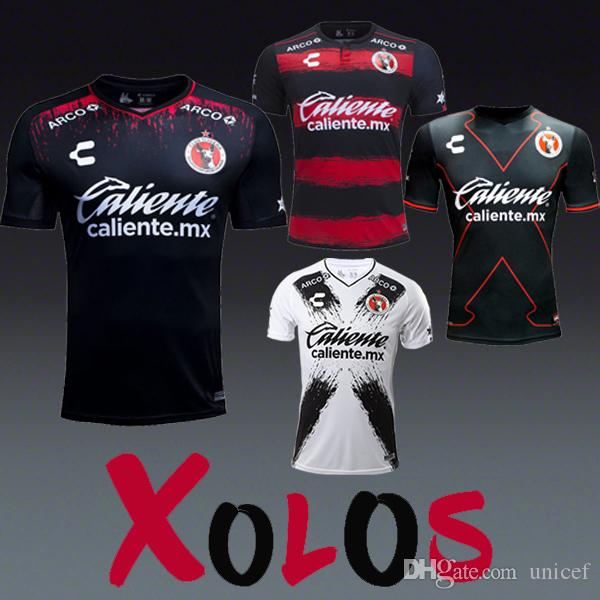 38c6069a07 2019 Liga MX Camisetas De Futbol Mexico Charly Xolos De Tijuana Soccer  Jerseys Football Shirts Kit Home Away Third 3rd 2018 2019 Maillot De Foot  From Unicef ...