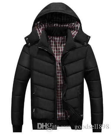 Wholesale Designer Mens Winter Down Coats Sport Thick Jacket Striped Sleeve Outerwear Keep Warm Plus Size Men designer Brand Jackets Luxury