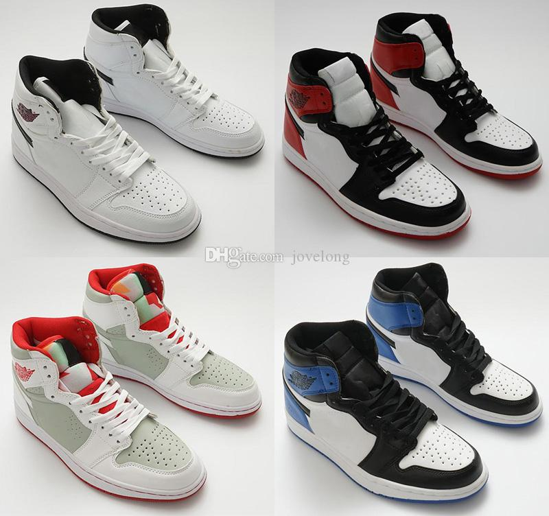 best website 8d356 148e0 High Quality Jumpman 1 Gold Top 3 Gold Toe Pass The Torch Hi Think 16  Silver White Kids Basketball Shoes Men 1s UNC Sports Sneakers