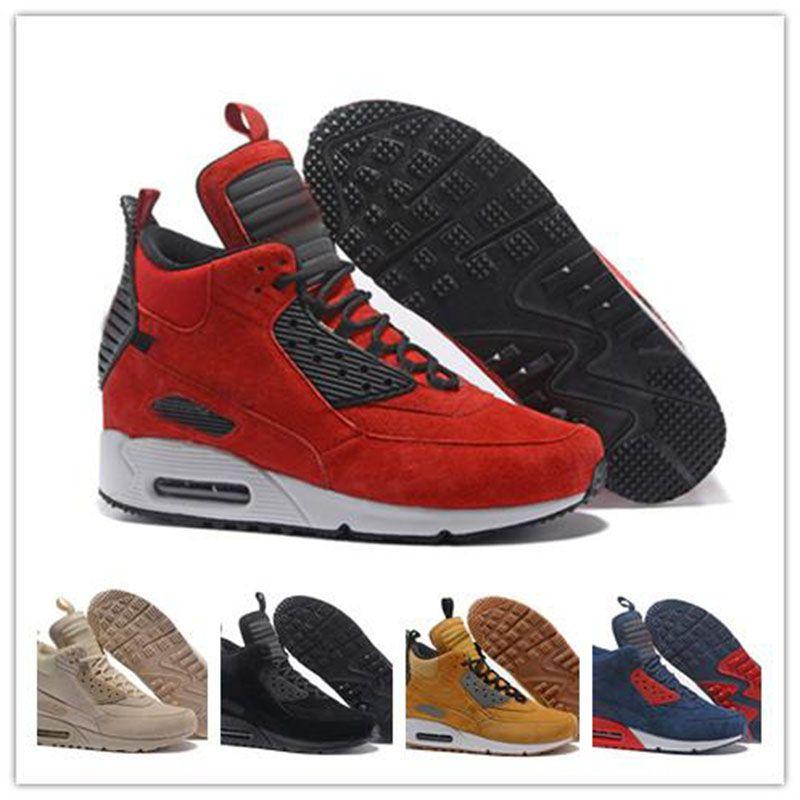 Athletic 97 Herren Cut Botas Sneaker Scarpe Boots Trainer Original Schwarz Blau Winter Mid 40 46 High Rot 90 Kissen Top Schuhe Zapatos Mann P8wX0knO
