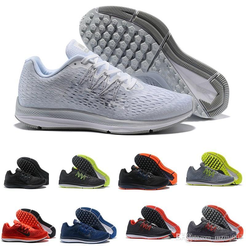 Nike Zoom Winflo 5 V5 2019 neueste hohe qualität kyrie v5 design basketball schuhe irving 5 s männer zoom sport training turnschuhe hohe knöchel größe