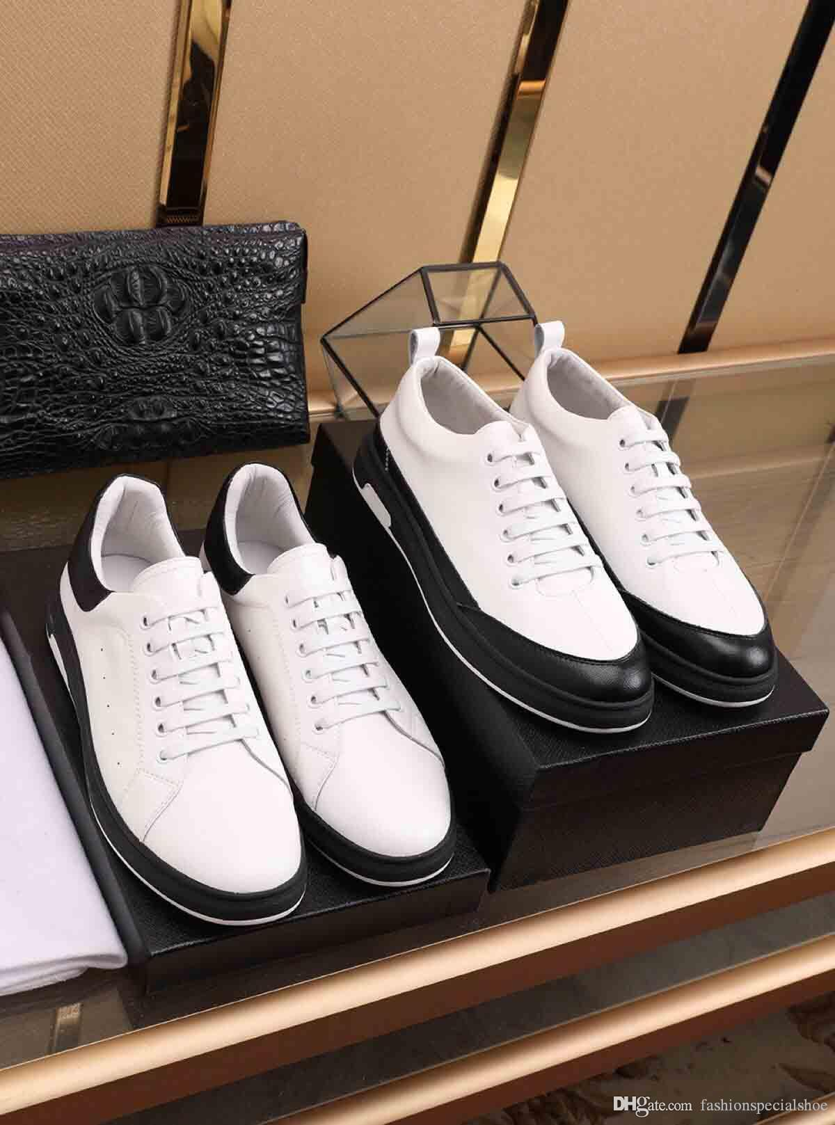 2020 designer new superstar running casual shoes men's white leather flat bottom anti-fashion trend solid color sneakers