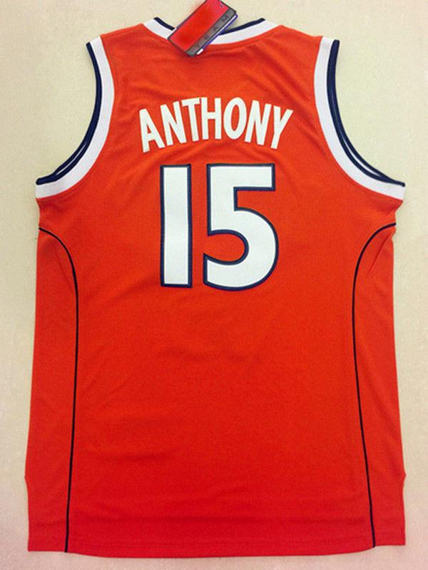 2019 Cheap Wholesale Carmelo Anthony Jersey  15 Syracuse College Stitched  Customize Any Name Number MEN WOMEN YOUTH Basketball Jersey From  Custom nbajersey 0d97c37f0
