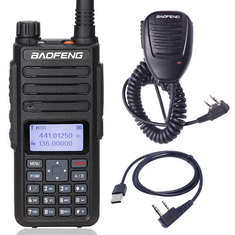 2019 Baofeng DM-1801 Digital Walkie Talkie VHF/UHF Dual Band DMR Tier1  Tier2 Tier II Dual time slot Digital/Analog DM-860 Radio
