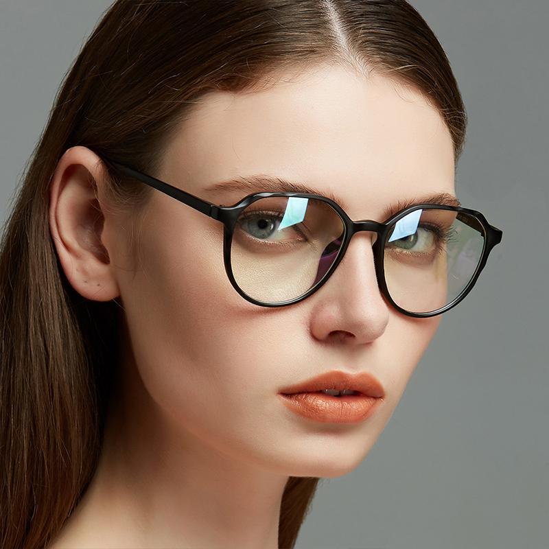 d7dd6563d8a 2019 New Cat Eye Flat Mirror Fashion Trend Frame Mirror Irregular Glasses  Frame Europe And America Retro Large Glasses From Wonderliu