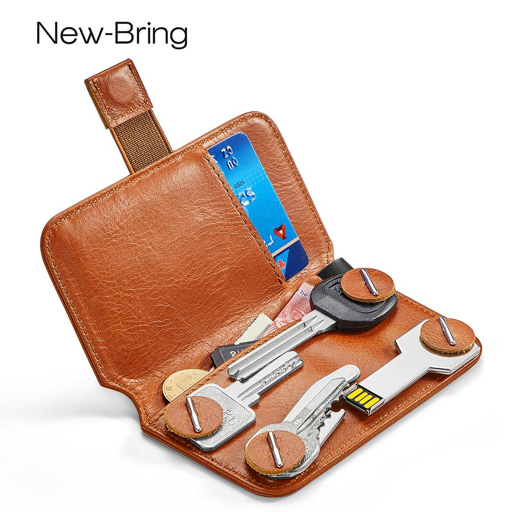New Bring Key Holder Leather Wallet Key Bag Change Bank Card Access Card  Collection Place Storage Italian Leather Wallet Zip Around Wallets From  Totebeauty 1f6a9e191da81