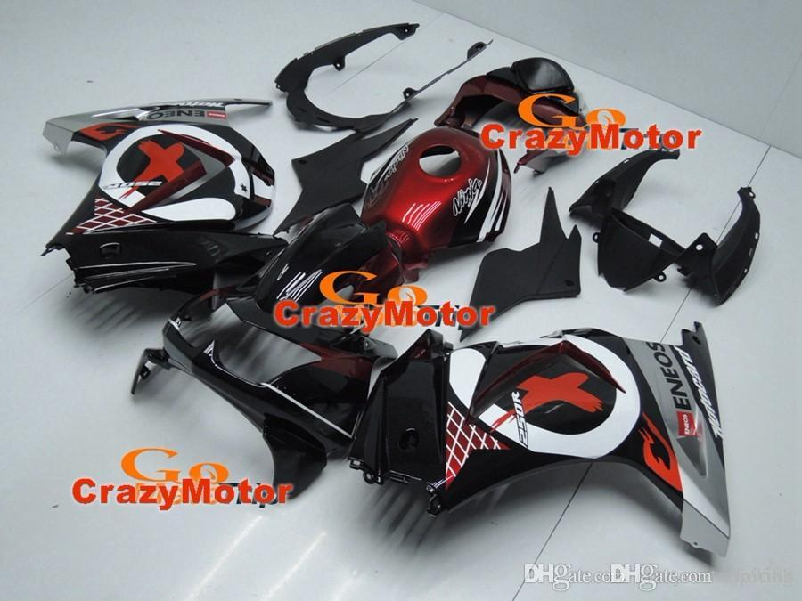 3 Free gifts New Fairing Kits For KAWASAKI Ninja250R 250R EX250 2008 2009 2010 2011 2012 Ninja set fairings bodywork red black white+Tank