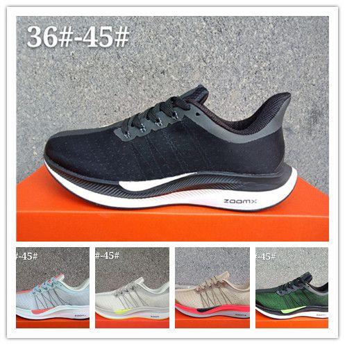 sports shoes 8d477 a7a83 Acheter Air Zoom Pegaus Turbo 35 Chaussures Hommes Chaussures Designer  Baskets Marque Noir Blanc Femmes Chaussures De Course Pour Hommes  Formateurs ...