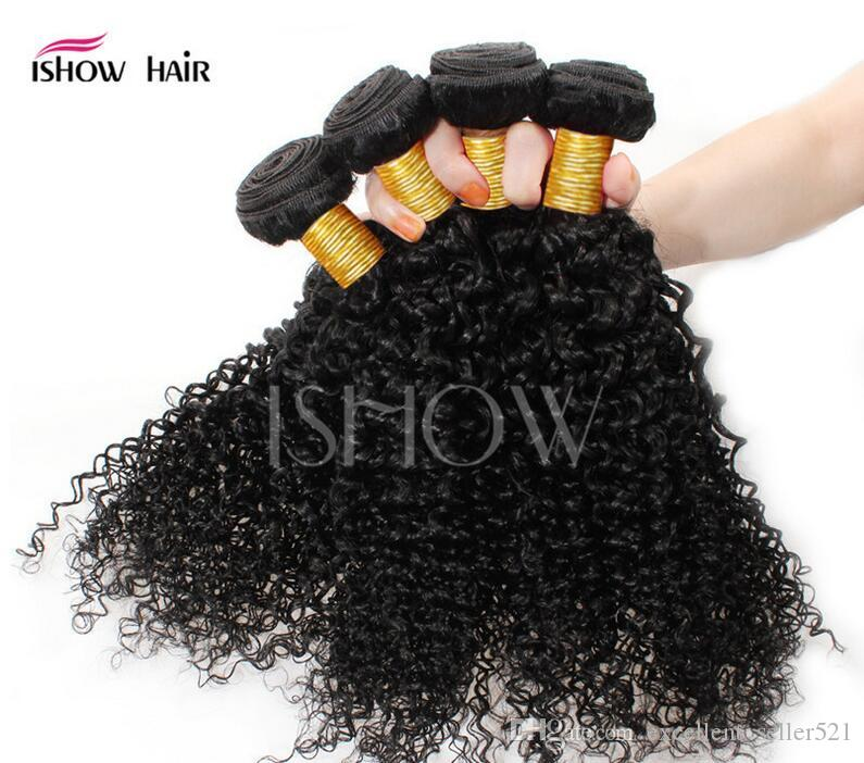 Women real hair curtains Kinky Curly hair Hair Extensions black girls curling curly hot Summer banquet wedding trip real tousle