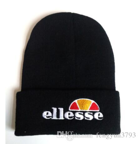 c2881a9175f681 Ellesse Beanies Ellesse Hats Fashion Knit Hat Hip Hop Embroidery Knitted  Caps Teenager Winter Warm Skull Beanies Designer Caps Fitted Caps Knit Hats  From ...