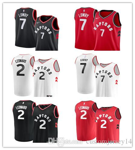 15766737038f Men s Raptors  7 Kyle Lowry 2 Kawhi Leonard Red White Black Swingman Jersey  Statement Edition Jersey Jersey Jersey Online with  24.86 Piece on ...