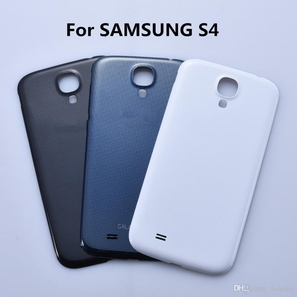 sports shoes 6f64b 3996d 100% Original For Samsung Galaxy S4 i9500 i9505 Back Housing Cover Case For  samsung S4 i337 Battery Cover Replacement