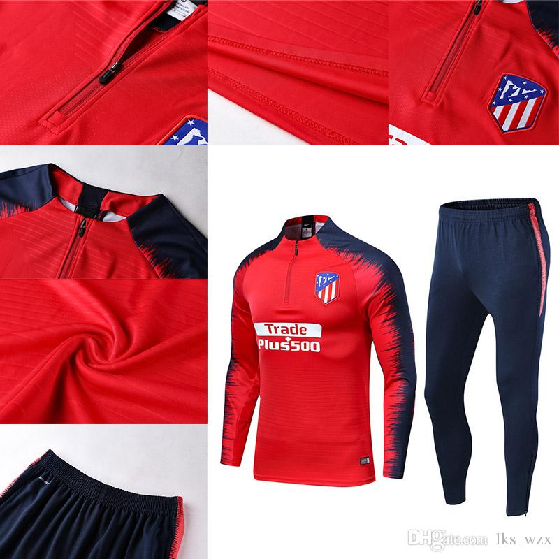 e01bda180 19~20 New Atletico Madrid Training Suit Psg Soccer Jersey Tracksuit ...