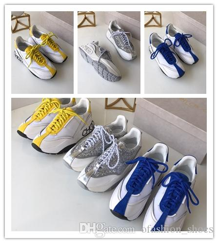 2019 nuovo Chain Reaction Luxury Casual Designer Sneakers Sport Moda Scarpe casual per le donne Trainer leggero 3 colori