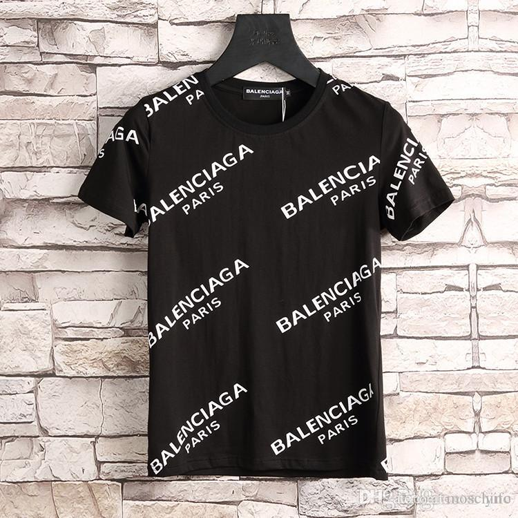 4ddb0891606 19SS Men T Shirt M-3XL Brands BB MODE Logo Homme Letter Printed T ...