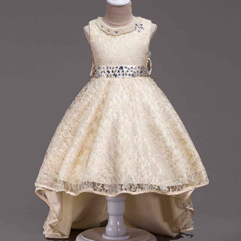 01ebbd1f4 Vestidos de fiesta vestido infantil 2019 Verano Niños Vestidos Para Niñas  Vestido de Boda Niñas Pequeñas Princesa Vestido Niños Noche