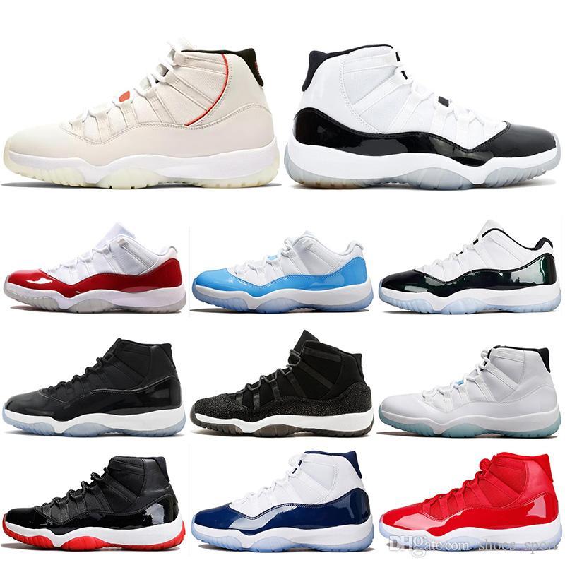 online store bc7df 0831b Compre Air Jordan 11 Retro AJ11 Nike 11 11s Platino Tint Concord 45  Zapatillas De Baloncesto Para Hombre Win Link 82 96 Gamma Blue Bred Mujer  Zapatillas ...