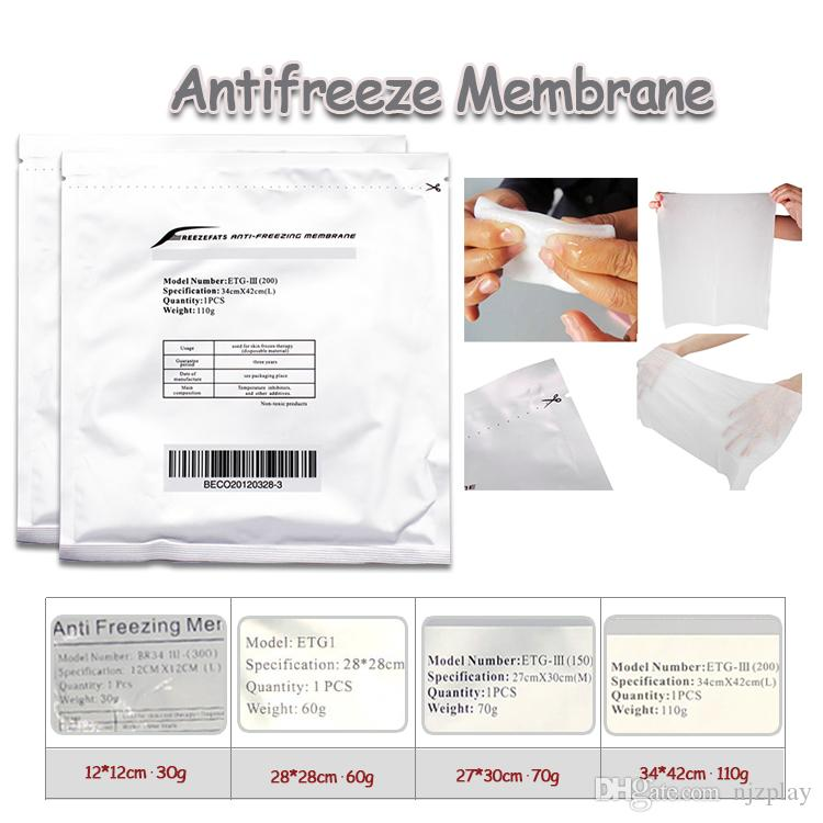Top good review Antifreeze Membrane Antifreezing membrane Anti-freezing  Membrane pad for cold weight loss cryo therapy machine no frostbite