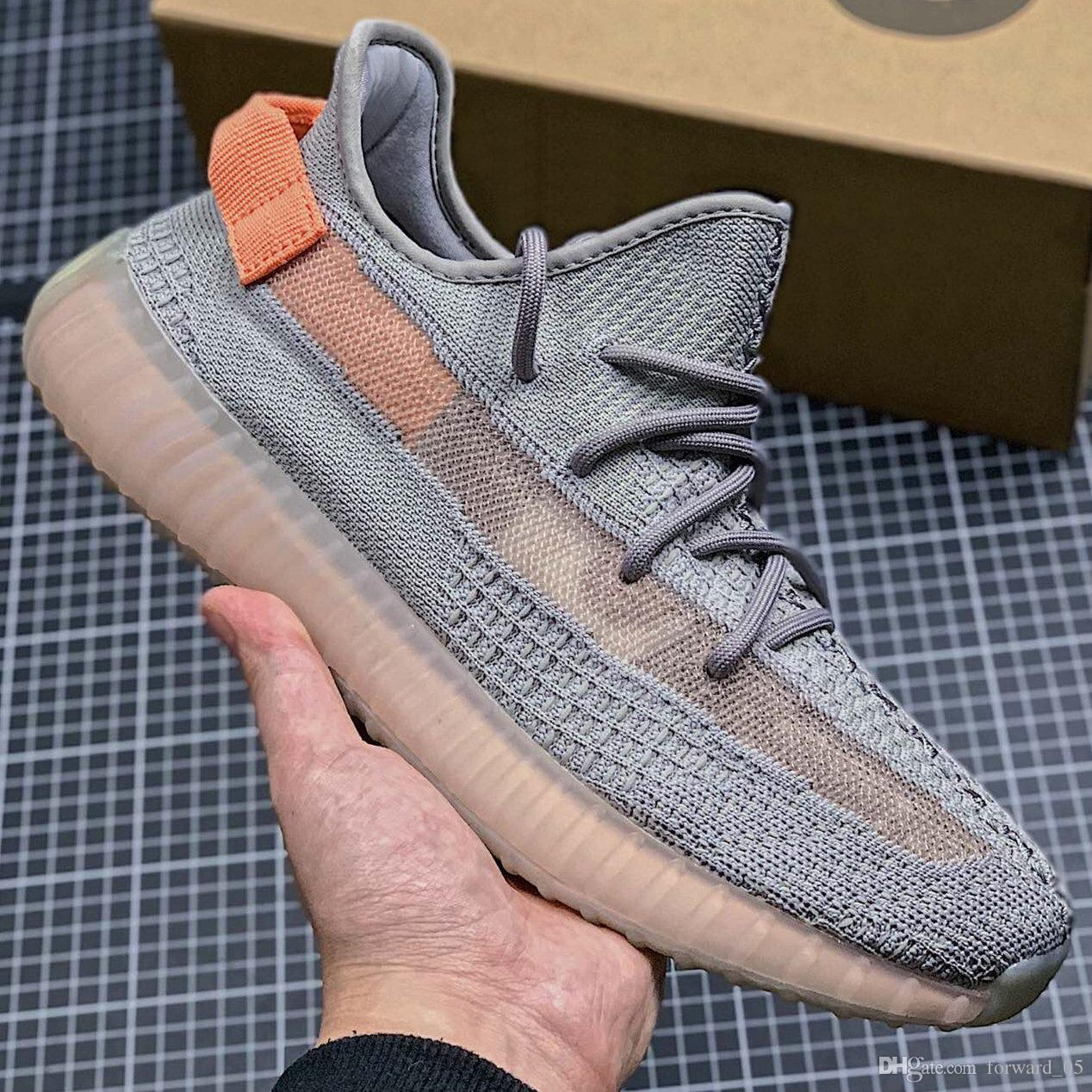 3b45e019 2019 Kanye West V2 Gid Glow 3M Reflective Static True Form Zebra Beluga 2.0  Clay Kanye West Running Shoes Men Women Sneakers 36 48 From Forward_05, ...
