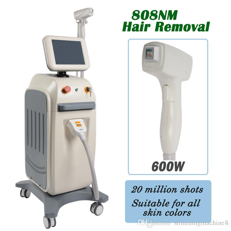 2019 new diode hair laser machine 808nm laser hair removal machines for salons Alexandrite diode Laser hair epilator