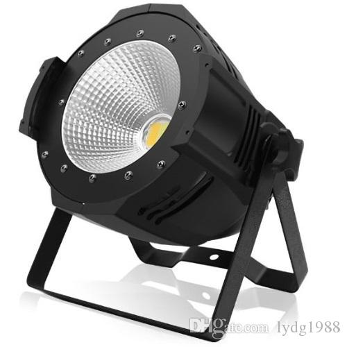 Pro Stage Equipment 100W LED COB Par Warm White/ Natural White Indoor DJ Par Can Light PhCamera TV Station Light Stage Decoration