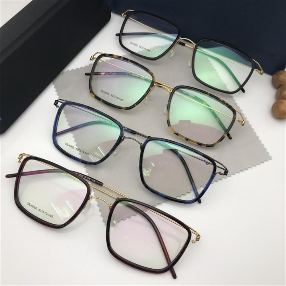 577e07a9b7 2019 Brand Leopard Glasses Luxury Women Men Brand Rectangle Titanium ...