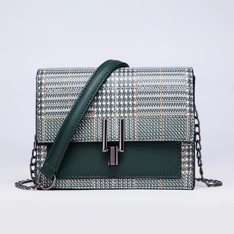 c23b75c4d8 Luxury Brand High Quality Leather Ladies Ladies Green Handbag ...